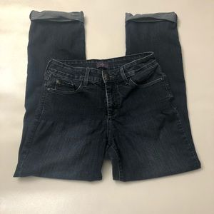 NYDJ not your daughters jeans size 4 cuffed ankle